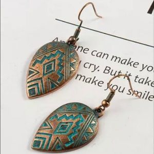 Boho Ethinic Drop Earrings Hanging Vintage Style